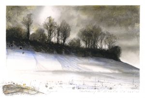 1058: West Melbury. Winter No2