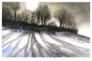 1058: West Melbury. Winter No3 SOLD