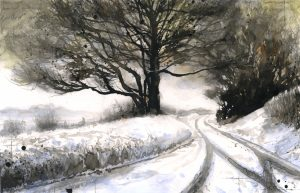 1058: West Melbury. Winter No5