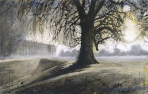 Low sun. Petworth SOLD